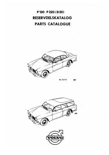 Onderdelenboek Amazon P130 en P220 (B20)